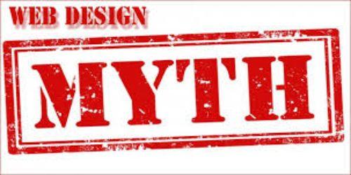 Web design myth