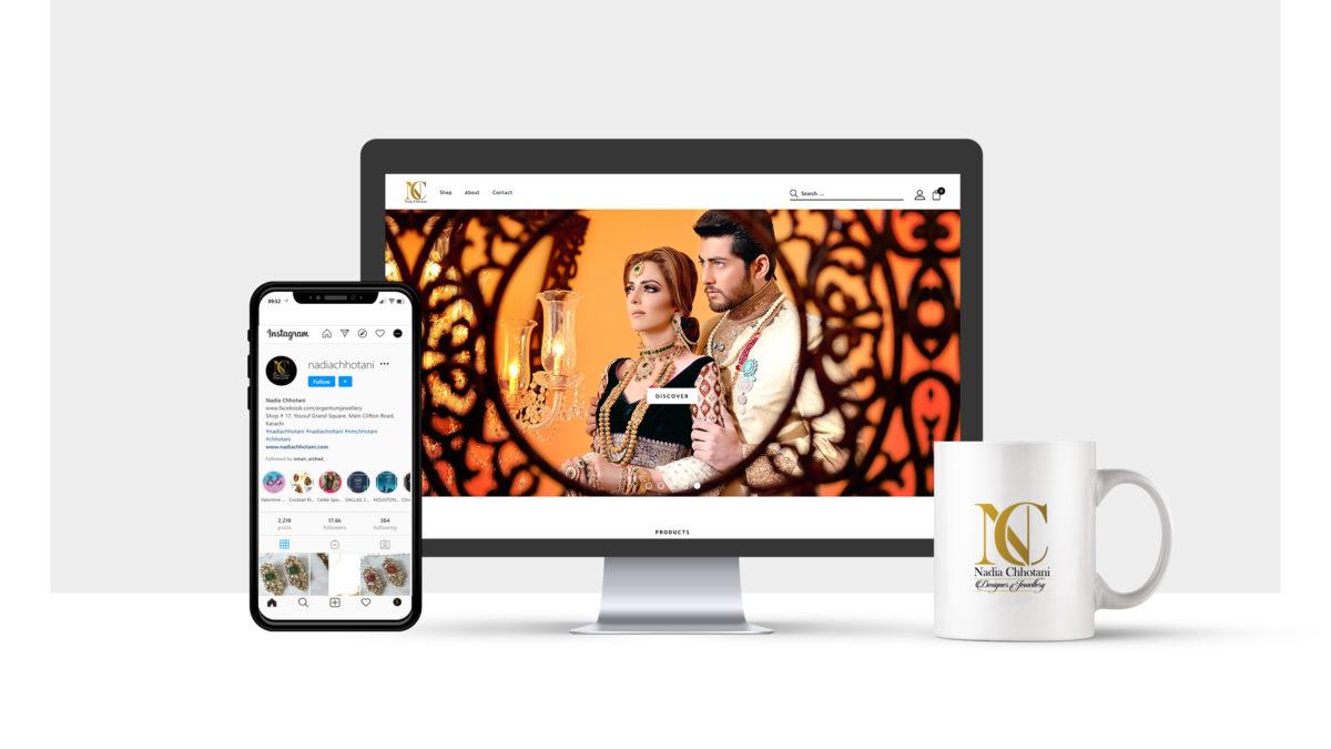 our client nadia chhotani portfolio